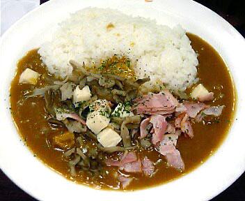 まいたけベーコン&豆腐カレー(期間限定)