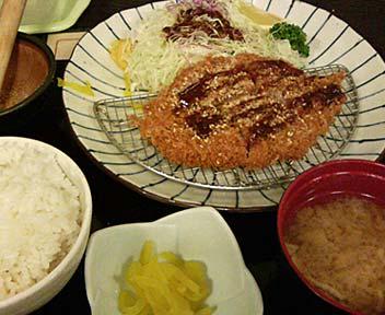 黒豚 ヒレかつ定食