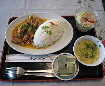 鶏肉レモングラス風味炒めセット