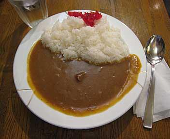 カレー(コーヒー付き)