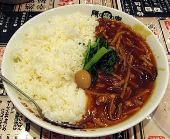 肉絲飯(ルースー飯/大盛)