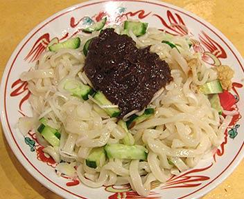 盛岡じゃじゃ麺(中)+手作り餃子(5ケ)