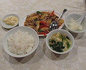 玉香肉片/ブタ肉の四川風炒め