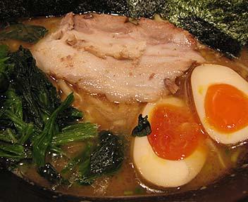 らーめん 七福家 早稲田店/らーめん+味付玉子