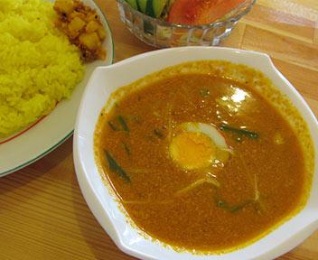 Royal Curry/ロイヤルカレー/キーマと卵のカレー(日替わり)