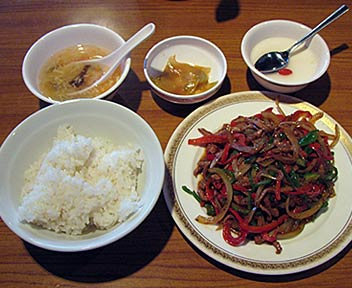 黒胡椒牛肉