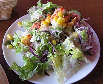 GB's CAFÉ/チキンカレーエッグ+追加サラダ