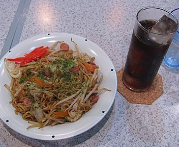 Cafe & Bar SANTA/サンタ/焼きそばセット(ランチBセット)