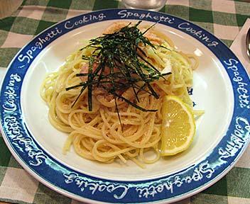 タラコスパゲッティ(日替りパスタ)
