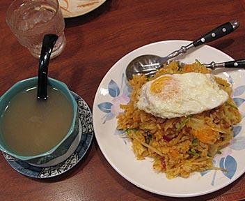 ミャンマー風まぜご飯
