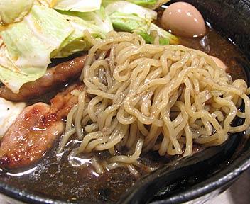 つけ麺 ザ ザ ザ/The the the/漆黒味噌醤油ラーメン