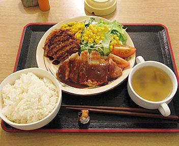 洋食居酒屋 ウニ/uni/ポークソテーとポテトコロッケ