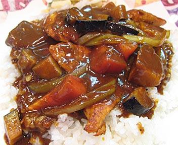 田舎料理・おにぎり 寿美/チキントマトカレー