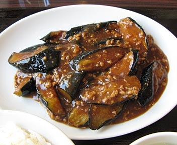 茄子と中華味噌炒めセット