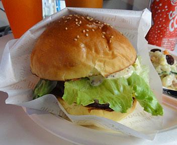 ハンバーガーランチセット