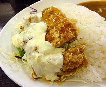 チキン南蛮風カレー
