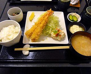 とんかつ・串揚げ 成蔵/Narikura/海老フライ定食