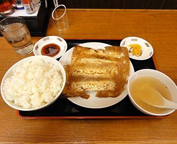中華食堂 一番館 高田馬場店/餃子定食