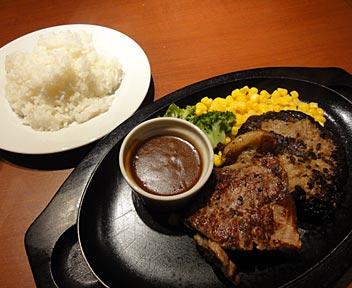 Steak & Cafe KENNEDY/ケネディ/デミグラスハンバーグ&サーロインステーキ