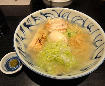 鶏そば + 味玉