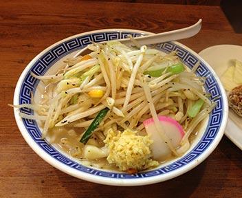 野菜たっぷりタンメンとカラアゲ/東京タンメン トナリ 高田馬場店