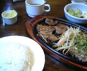 ふらんす亭/レモンステーキ