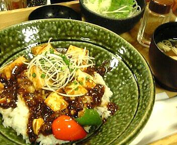 熟成豆板醤の四川麻婆豆腐