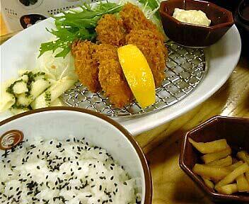 広島産 カキフライ定食