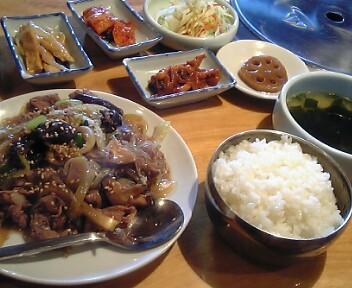 炭火焼肉・韓国家庭料理 太極旗/プルゴキ